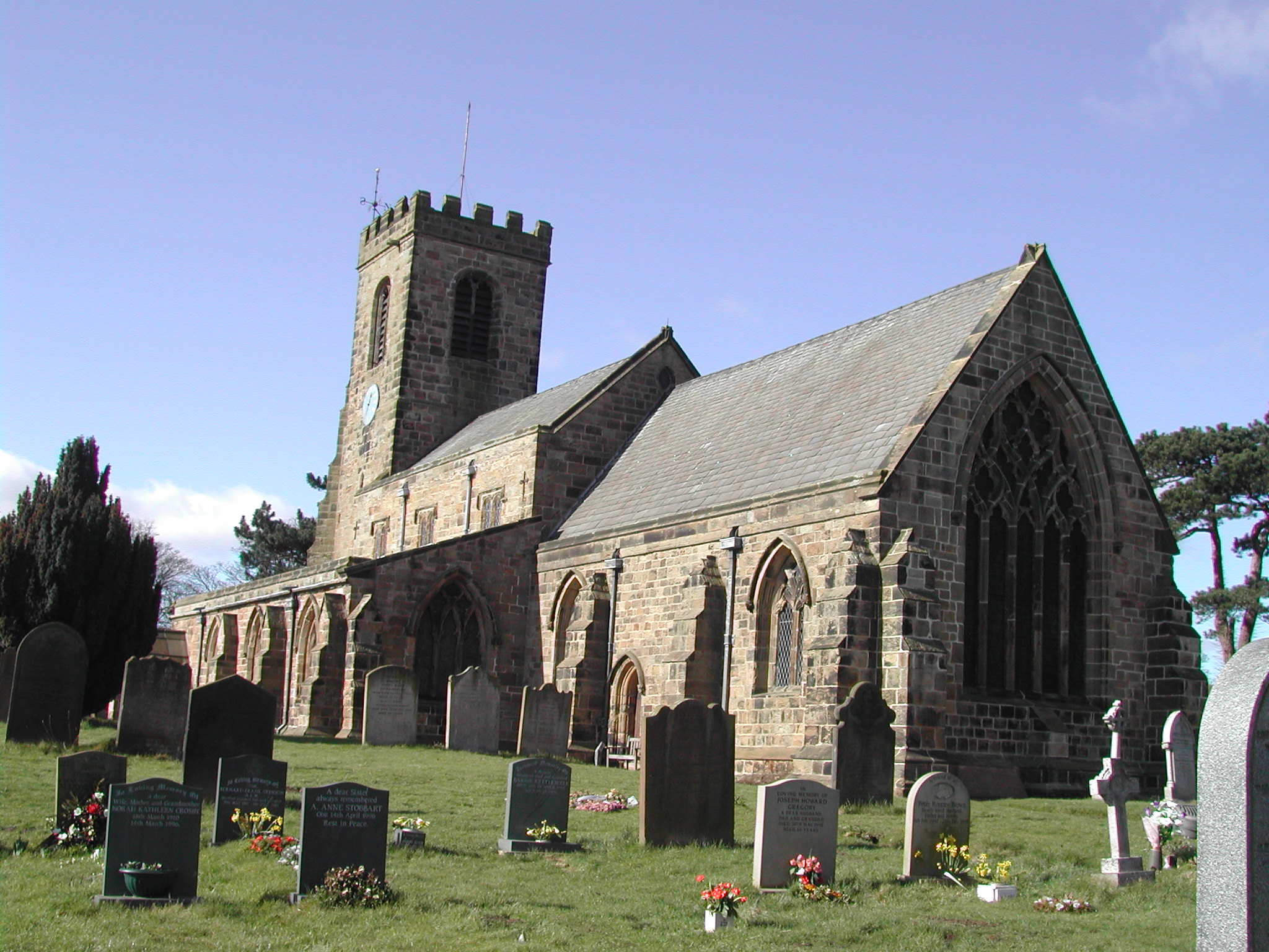 St Helen's Church, Ainderby Steeple